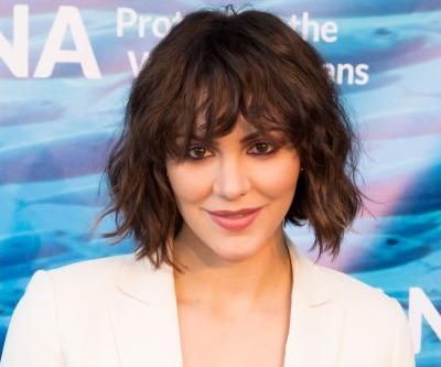 Katharine McPhee shows off David Foster engagement ring