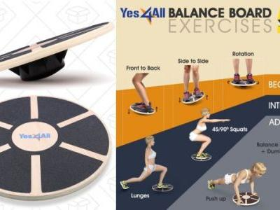 This $20 Balance Board Is a Great Way to Strengthen Your Core