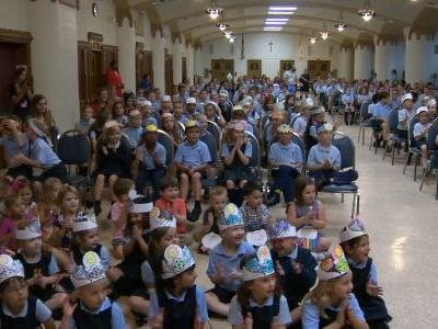 School Visit: St. Bernard School in Mt. Lebanon