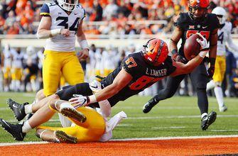 Oklahoma State's second half rally propels them to 45-41 upset of No. 9 West Virginia