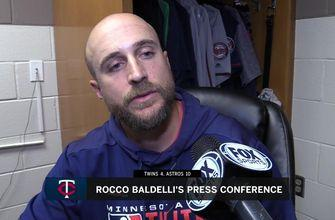 Twins' Baldelli on Pineda's fifth start, Rosario's homer