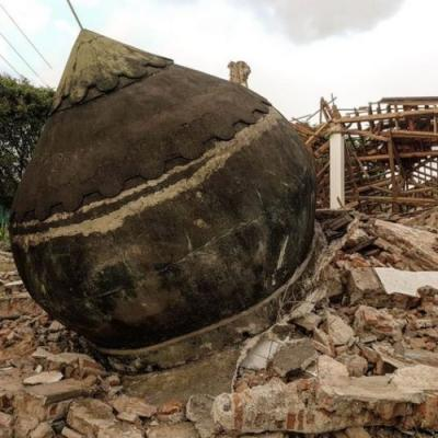 The DOME Lombok Eco Village Team is Raising Money To Rebuild City After Devastating Earthquake