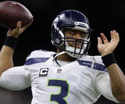 Russell Wilson announces new Seahawks contract from bed