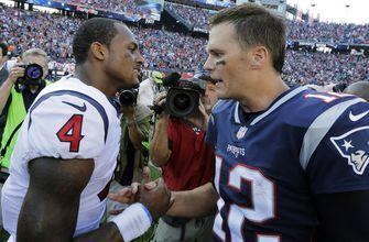 Brady wins another 1 in final seconds, 36-33 over Texans