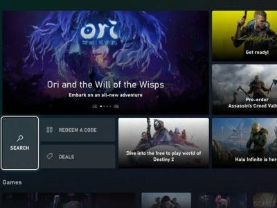 New Microsoft Store on Xbox coming to Xbox Insiders on August 5