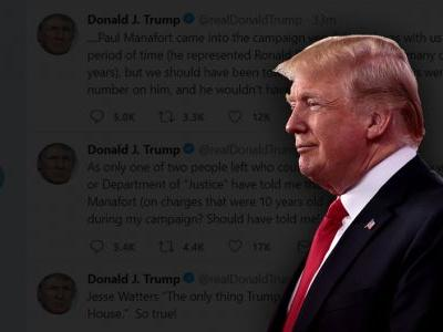 Trump Blasts Comey's 'Minions' and FBI Agent Lovers Over IG Report, Praises New FBI Director Christopher Wray
