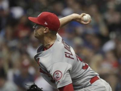 Cardinals rookie Flaherty loses no-hit try in 7th vs Brewers