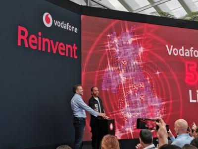 Vodafone says its 5G can boost UK businesses