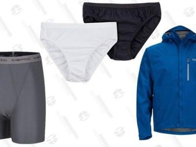 Amazon's Cyber Monday Outdoor Sale Includes Reader-Favorite Underwear and Raincoats