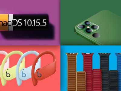 Top Stories: macOS 10.15.5, New Powerbeats Pro Colors, iPhone 12 and 13 Rumors, and More