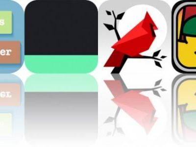 Today's Apps Gone Free: Sayings Builder Master, Today's Stash, Cardinal Land and More