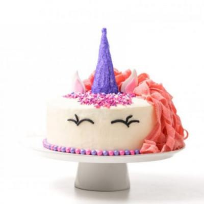 How to make a pink unicorn cake