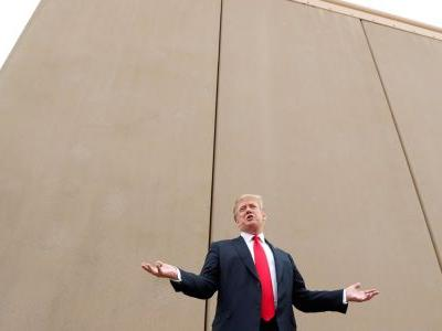 A San Diego TV station rolled back an accusation that CNN rejected a local reporter's commentary because it was pro-border wall