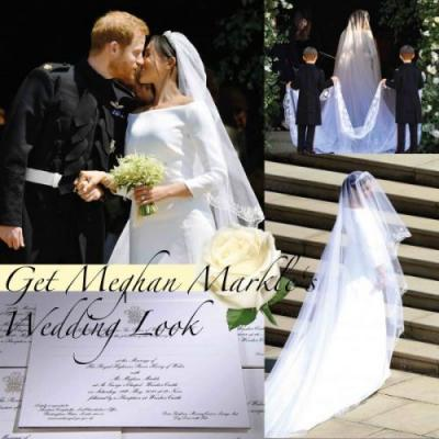 Get Meghan Markle's Wedding Look