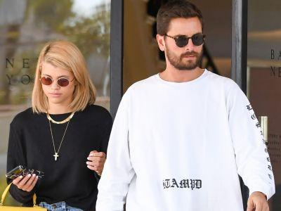 Sofia Richie Has Scott Disick's Face on Her Phone, Reminding Everyone She's a Teenager