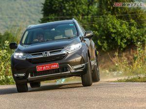 2018 Honda CR-V Launch On 9 October Will Not Get Petrol AWD