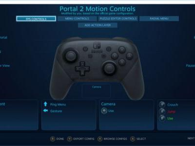 Steam Input Adds Support for The Switch Pro Controller
