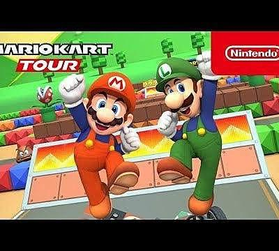 Mario Kart Tour's New Mario Bros. Tour is a Blast from the Past