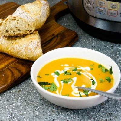 Spicy Pumpkin Soup - Instant Pot