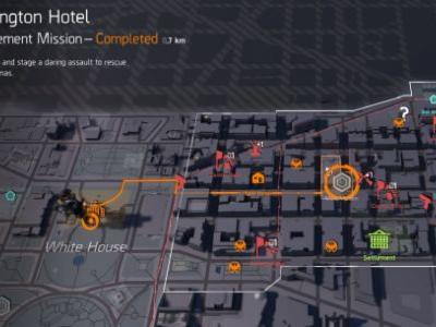 The Division 2: how to get The Chatterbox Exotic SMG