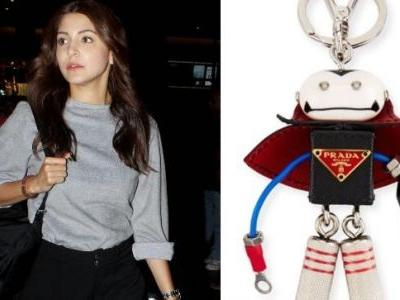 The price of Anushka's keychain can fund your round trip to Sri Lanka