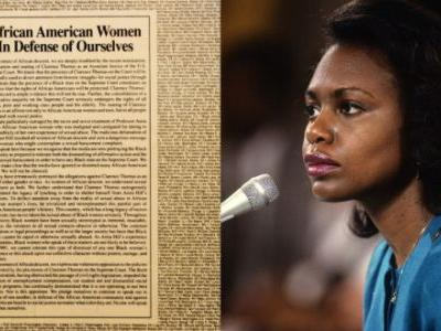 27 Years Ago, 1600 African-American Women Signed A NYT Ad Supporting Anita Hill