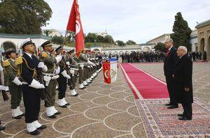 Turkish president ends Africa visit with stop in Tunisia
