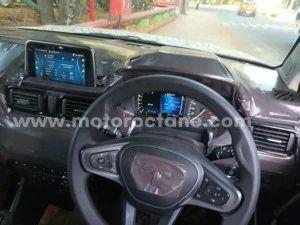 Upcoming Tata HBX Spied Again Details Of Production Models Interior Revealed