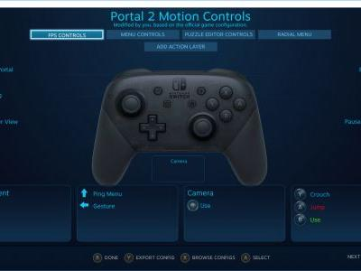 Steam beta adds support for Nintendo's Switch Pro Controller
