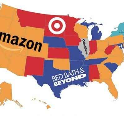 Amazon is the wedding registry of choice for half of US states - here's how it stacks up against the 4 other most popular sites