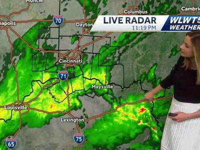 Soggy night leads to a damp and cold Saturday
