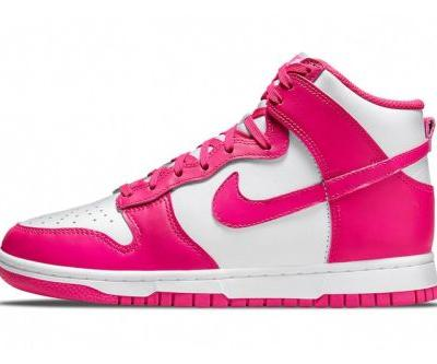 """The Nike Dunk High Receives a Hot """"Pink Prime"""" Treatment"""