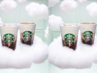 How Much Caffeine Is In Starbucks' Cloud Foam Drinks? They're Pillowy Pick-Me-Ups