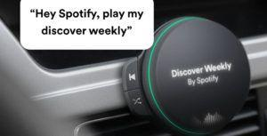 Spotify might finally release in-car hardware that leaked in 2018