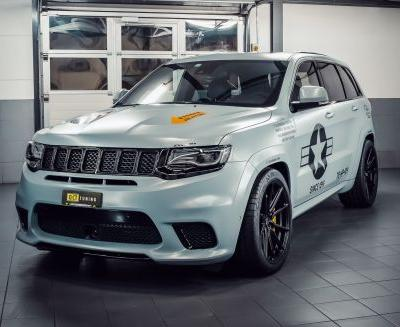 O.CT Jeep Grand Cherokee Trackhawk Pumps Out 875 HP