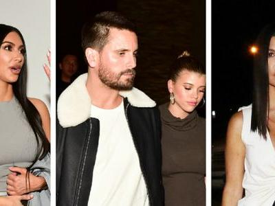 Kourtney Kardashian Parties With Ex Scott Disick And His GF Sofia Richie - Awk Much?