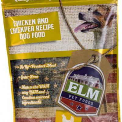 Elevated levels of Vitamin D in Elm Chicken and Chickpea Recipe dog food prompts Recall