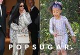 Kim Kardashian and North West Slither Into Spring in Matching Snakeskin Outfits
