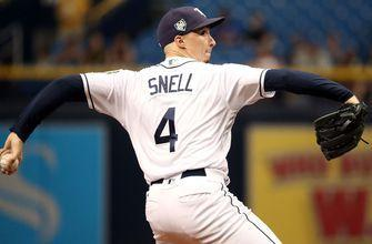 Snell pitches 6 solid innings in win against Royals, Rays tie team record shutout streak