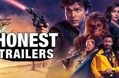 Solo Honest Trailer Kicks the Star Wars Franchise While