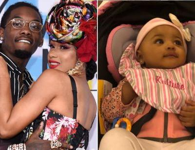 Offset's Video Of Cardi B Playing With Kulture Will Melt Your Heart Into A Puddle Of Feels