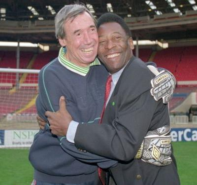I'm glad he saved my header - Pele in moving tribute to 'magic' Gordon Banks