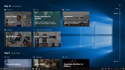 Windows 10 Timeline remembers everything you did on your PC