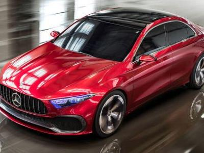 Mercedes Confirms A-Class Sedan Is Bound For The U.S