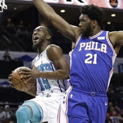 Kemba Walker scores 60, but Hornets still lose to 76ers