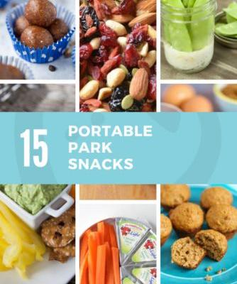 15 Portable Park Snacks and Tips