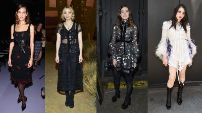 Celebs Wore Their Front-Row Best at This Week's NYFW Shows