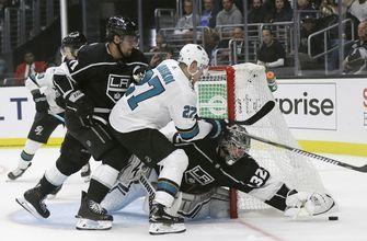 LaBanc scores in overtime, Sharks beat Kings 3-2