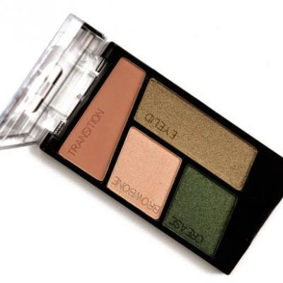 Wet 'n' Wild Dragon Scales Color Icon Eyeshadow Quad Review & Swatches