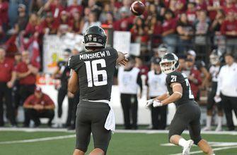 Minshew tosses 4 touchdowns as No. 25 Washington State knocks off No. 12 Oregon 34-20